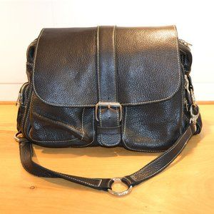 Genuine Roots leather bag